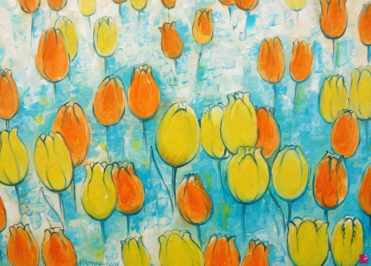 campo di tulipani di Natalia Khromykh