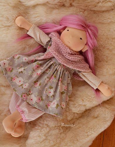 Elena, 18 inch custom Puppula doll