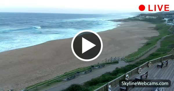 Breathtaking view over the Dolphin Coast in #Ballito, #SouthAfrica. Live #webcam >