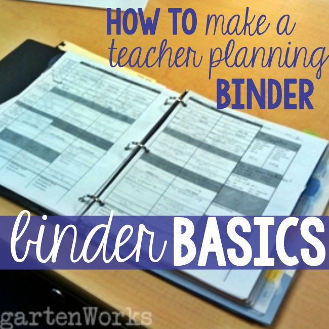 Teacher planning is part of what we do as teachers to create lessons and plan for students. These are the key items I include in my teacher planning binder.