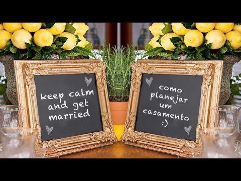 Casamento : como planejar ---- Os primeiros passos! - YouTube