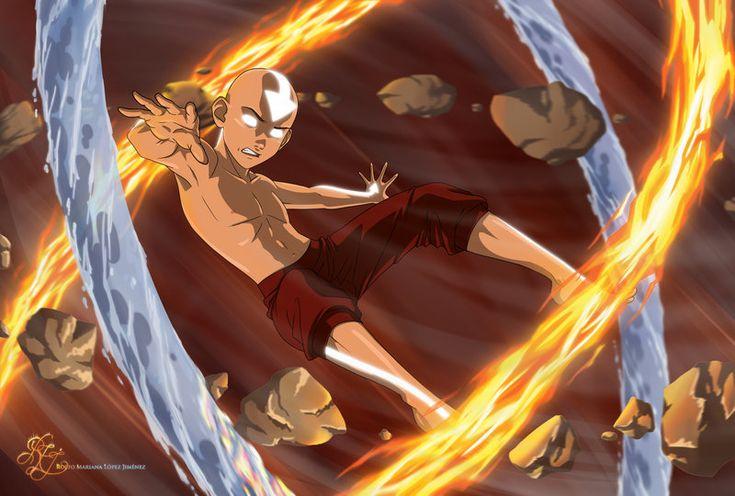 Avatar Aang by Bashihia on deviantART