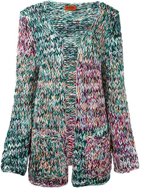 Купить Missoni открытый кардиган в Julian Fashion from the world's best independent boutiques at farfetch.com. 400 бутиков, 1 адрес. .