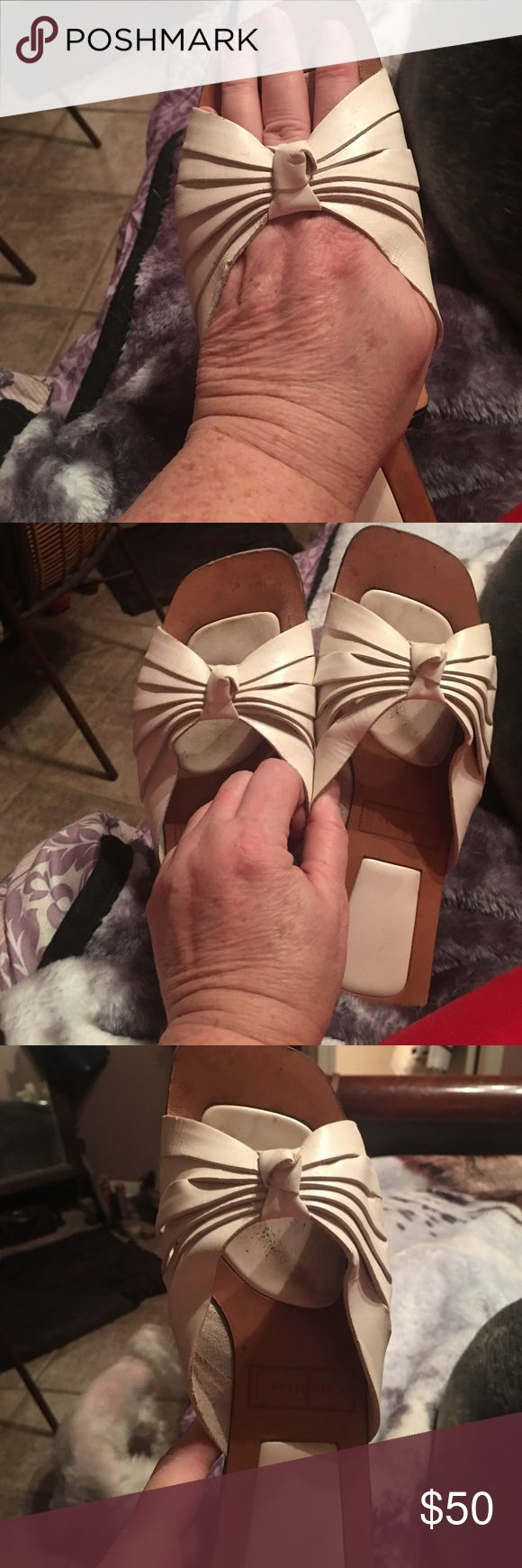 Cute Cole Haan Sandals!  Cute & Comfy Cute Cole Haan Sandals!!!  Cute & Comfy!!  Slightly worn Cole Haan Shoes Sandals
