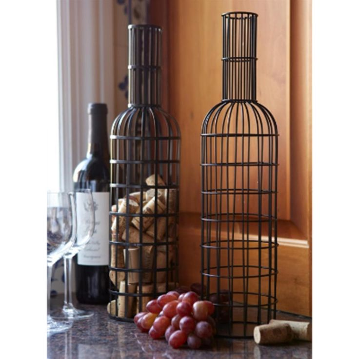 Fun Ways To Display Wine Corks: 17 Best Images About Wine Decor And Wine Racks On