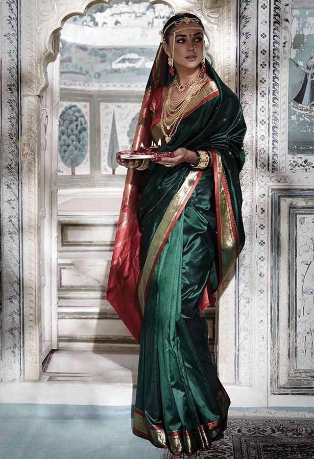 Tanishq Maharashtrian Bride Wedding Jewellery Collection(2)