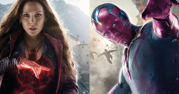 Vision and Wanda Avengers: Infinity War