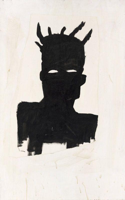 jean-michel basquiat artwork | Jean-Michel Basquiat, Self Portrait (Plaid) , 1983, Sammlung Thaddaeus ...