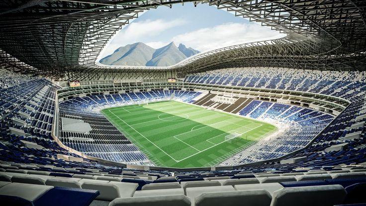 Tecnologico de Monterrey Stadium - Club de Fútbol Monterrey - Mexico
