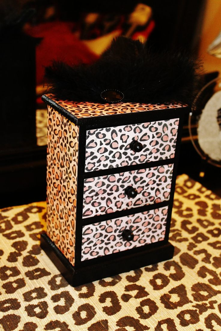 Feathered Leopard Jewelry Box Car Seats I Love And Cars