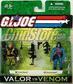 HARD DRIVE VS BARONESS GIJOE Valor VS Venom Toy Figure