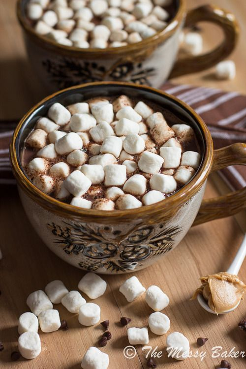 How about some hot chocolate with your mini marshmallows???.