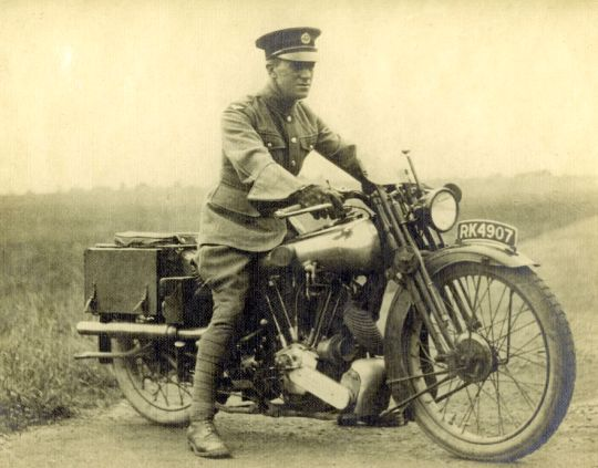 """T. E. Lawrence … Lawrence of Arabia.  Today, 19 May 1935, 80 years ago, TE Lawrence died from the injuries he suffered from his motorcycle accident, on his Brough Superior SS100, 6 days earlier.  Biographer Lowell Thomas wrote of him:  """"With hindsight, it is easy to see why a slim, self-effacing Englishman named Thomas Edward Lawrence became one of this century's most ballyhooed celebrities"""".  """"Out of the appalling carnage of World War I, the mud-caked anonymity of the trenches, the hail of…"""