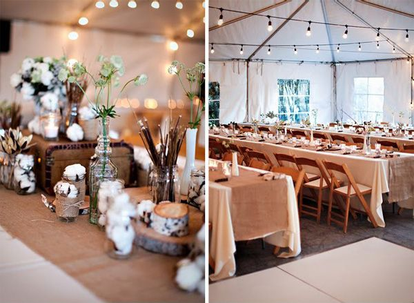 Pretty Chic Blog – Modern Scandinavian Weddings , Archive » Bryllup: Et organisk bryllup – Borddekorationer og kagebuffet