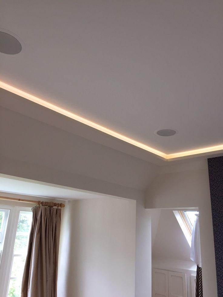 LED lighting in ceiling