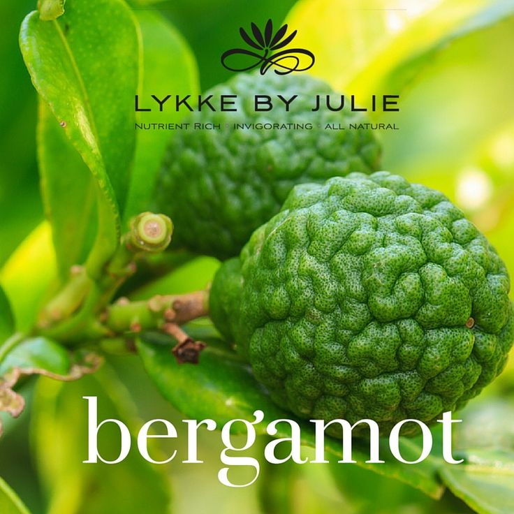 Bergamot extracted from the peel of the citrus bergamot - it has properties that are cleansing to oily skin and acne - the one we use can be used safely in the sun