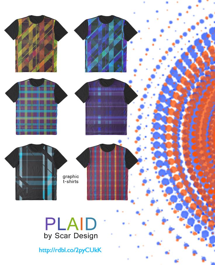 Plaid Graphic T-Shirts, Cool Summer Gifts by Scar Design #plaid #tshirts #summer #gifts #summertshirts #summer2017 #summerfashion #scardesign #redbubble #plaidtshirts #gifts #giftsforhim #giftsforher #graphictshirts