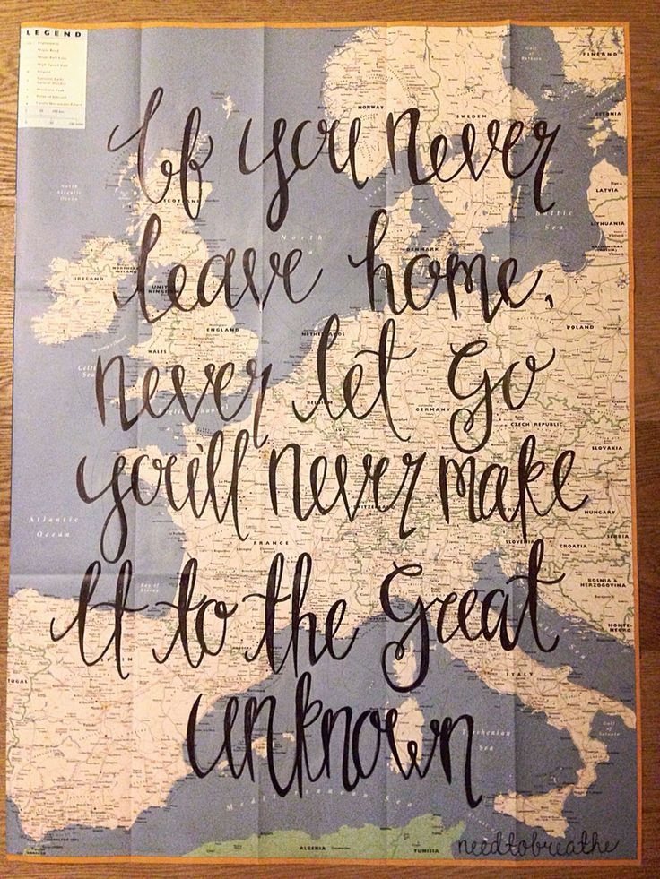 Needtobreathe lyrics drawing on a map! Calligraphy! By Taylorstorrer