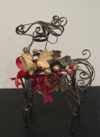 Christmas Metal Reindeer