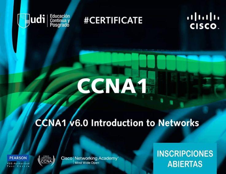 #CISCO #CCNA1 #CERTIFICATE #CRECE #CCNA (Cisco Certified Network Associate) es una certificación más completa en el ámbito de las Redes y Telecomunicaciones, una forma idónea para mejorar tus perspectivas en el mercado laboral actual. ¡Nunca dejes pasar las grandes oportunidades de tu vida!! Mayor Información: 342-2525 int. 138-132 ó educacioncontinua@udi.edu.bo ¡INSCRIPCIONES ABIERTAS!!!