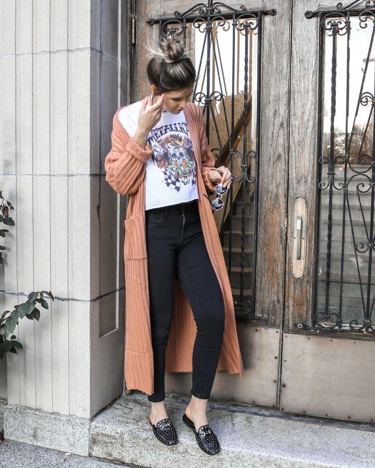 Cardigan Outfit // by Erin Elizabeth