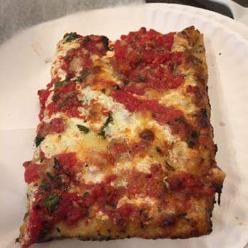 Photo of Louie's Pizza - Elmhurst, NY, United States. Grandma