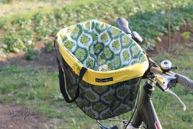 StickFisch: Tasche für den Fahrradkorb