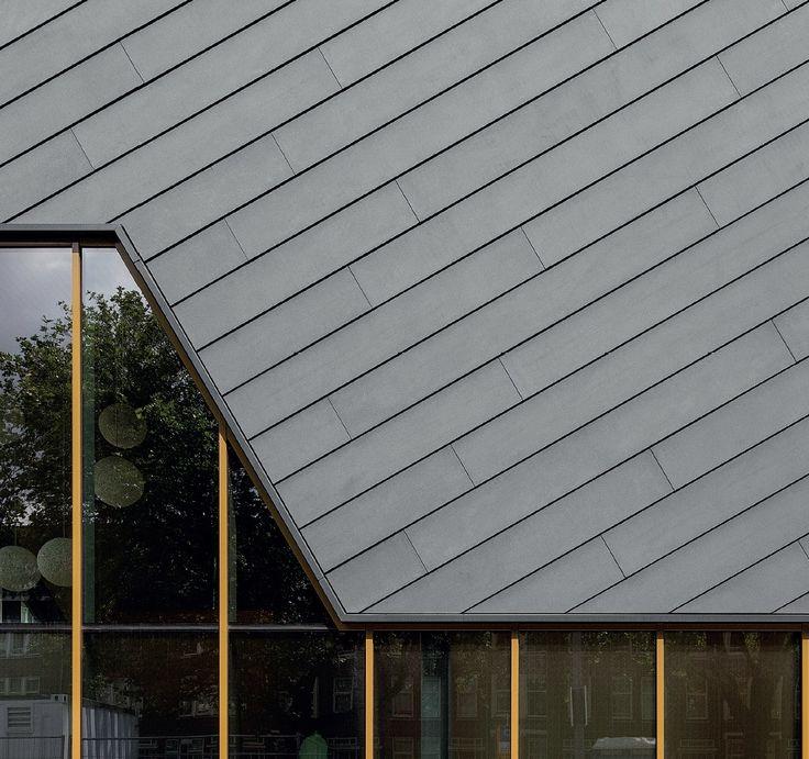 Facade detail koning ellis architects rotterdam