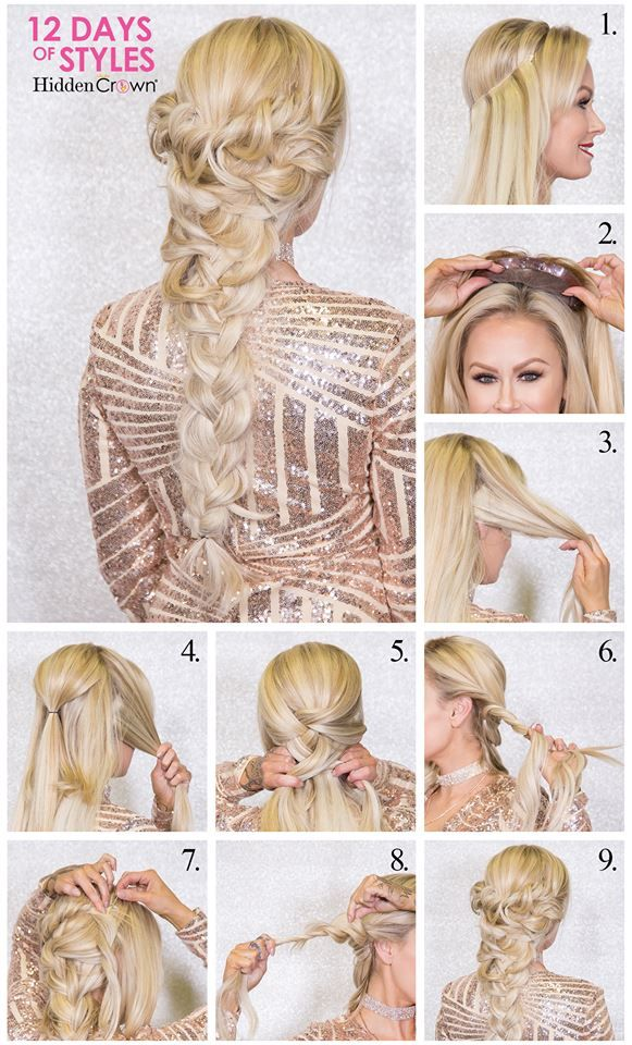 Queens We Welcome You To 12 Days Of Hidden Crown Holiday Hairstyles