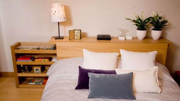 Dormitorio juvenil y moderno - Mesitas de noche