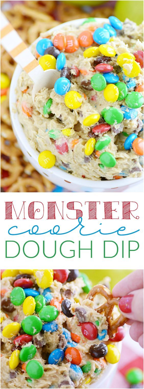 Monster Cookie Dip is a quick and easy dessert recipe