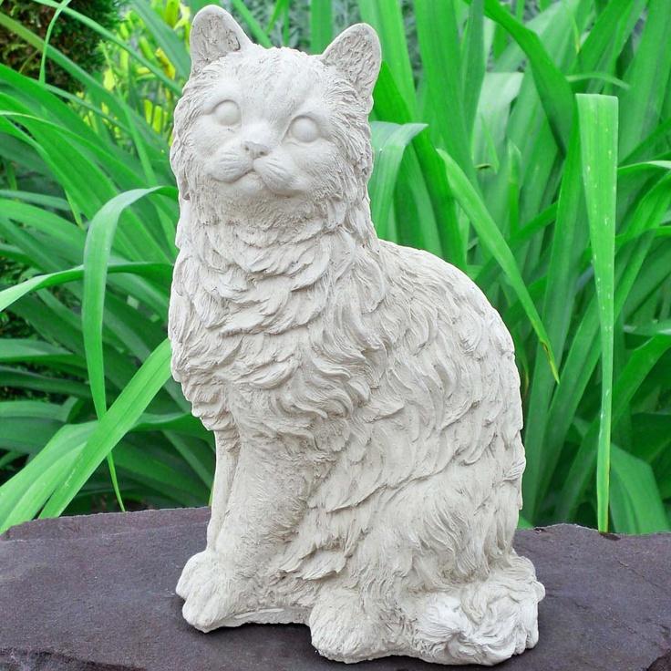 Pet Memorial Marker Dog Cat Memorials Pet Headstones Dogs Cats Garden Statues Furry Long