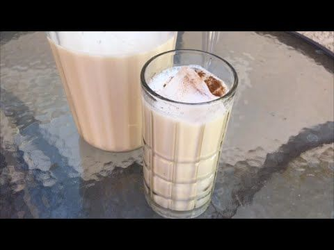 Horchata. Mexican Horchata Recipe - YouTube