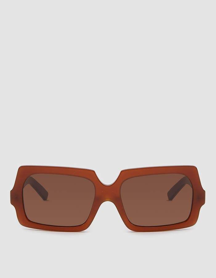 e54b4a42fb George Large Sunglasses in Chocolate Brown | Sunglasses