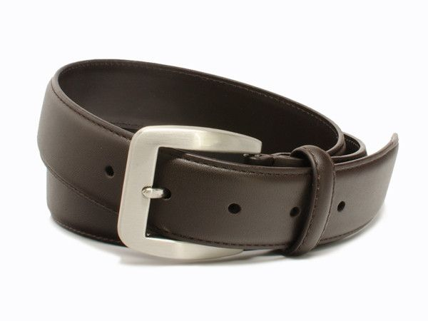 Nickel Free Casual Brown Belt - great look with no stomach rash