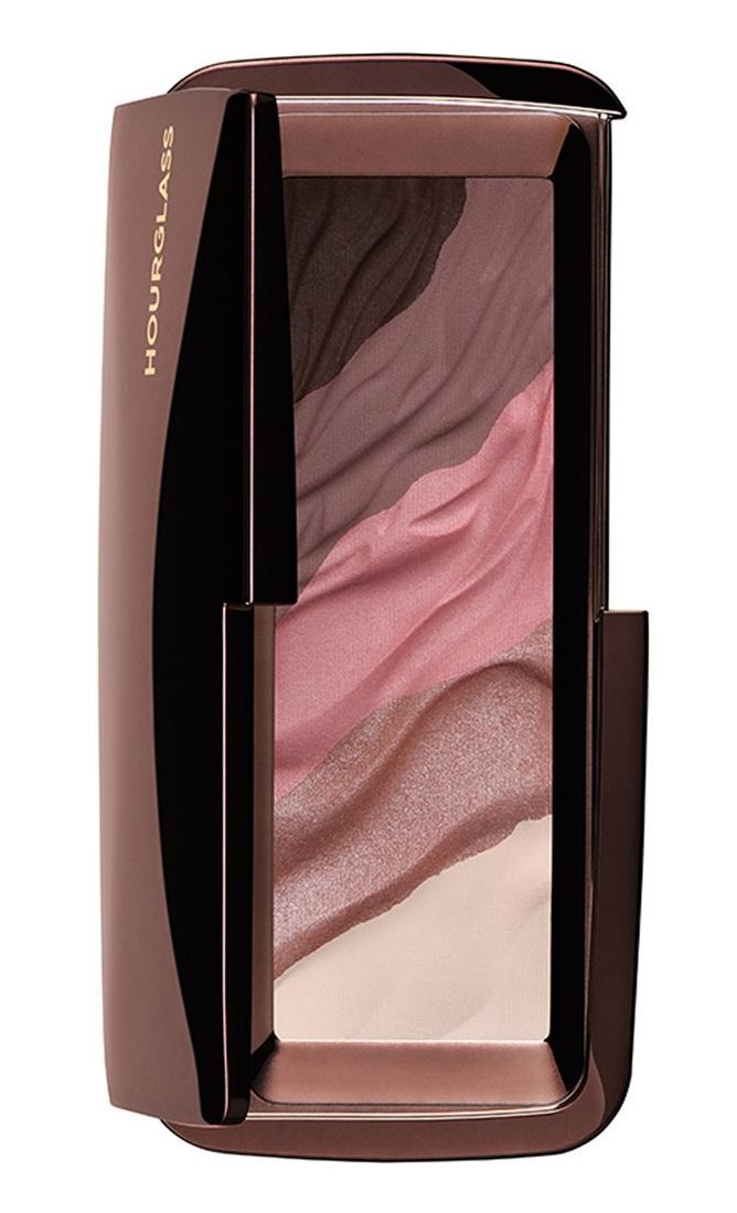 Pro tip: Apply the shimmer shades wet for more dramatic color.