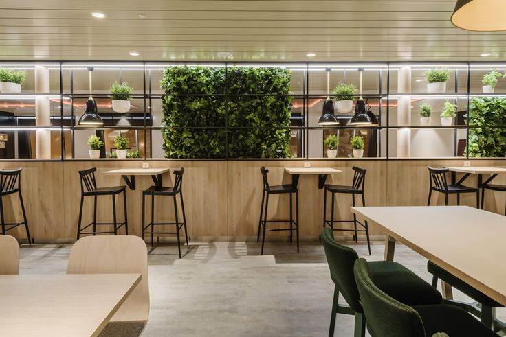 Herbs & restaurant at Tallink Megastar ferry design