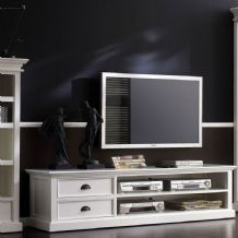 Halifax White Painted Large TV Unit