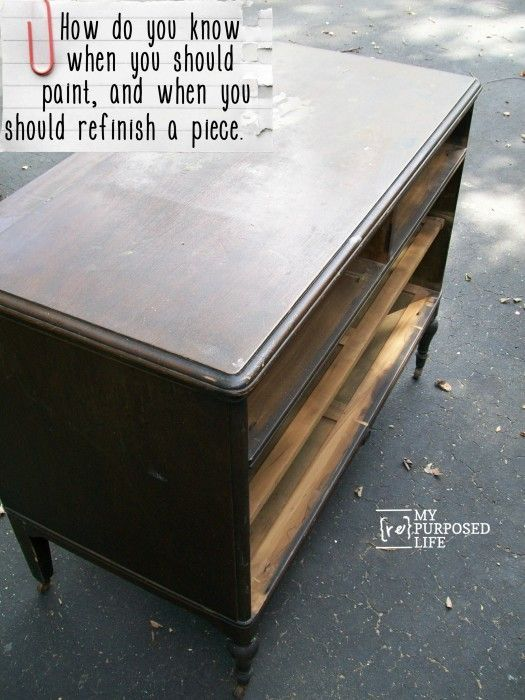 17 best images about easy furniture refinishing tutorials for How to refinish furniture with paint