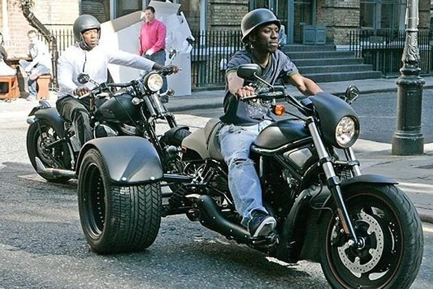 Shaun Wright-Phillips - Harley Davidson Trike | Craziest, most ridiculous cars owned by sports stars - Yahoo Maktoob News