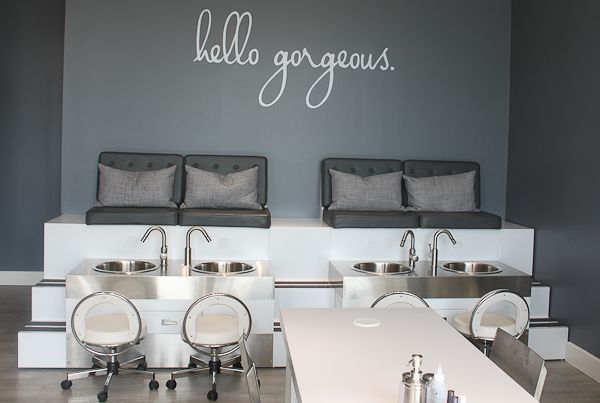 24 best images about project on pinterest social media for Blo hair salon