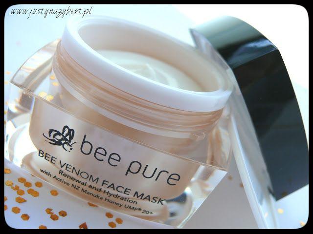 Justyna Zybert Pro Make Up Artist : Dziś pszczoły bzzzyczą o Bee Pure Venom Mask, BeeYes