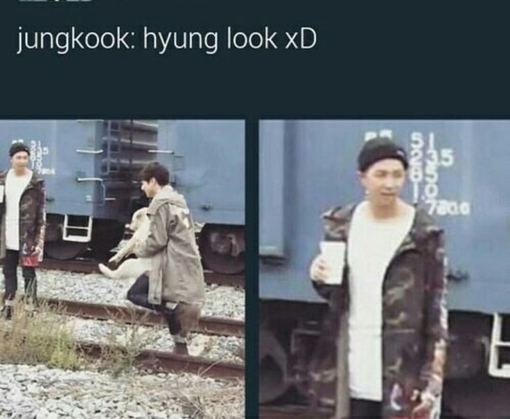 """Namjoon is probably thinking """" what did I raise"""""""