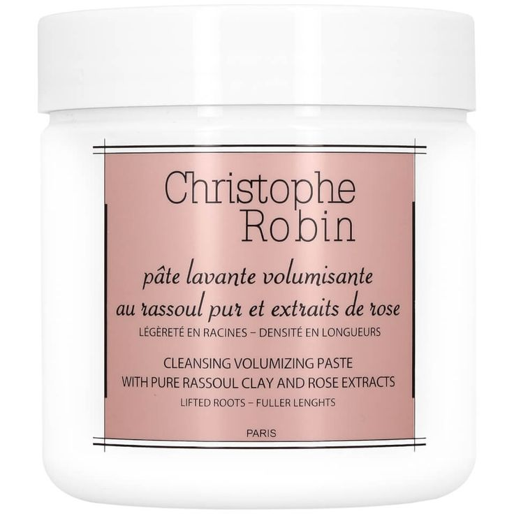 Christophe Robin Cleansing Volumising Paste with Pure Rassoul Clay and Rose Extracts 250ml   @giftryapp