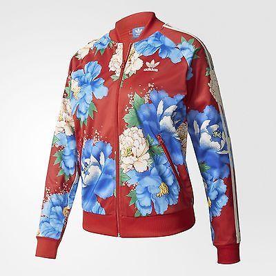 1cde86ae7929a Adidas Originals Women s Chita SST Track Jacket BJ8417 Multicolor ...