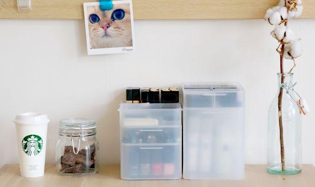 9 beste afbeeldingen van organize ideas - Office opslag tip ...