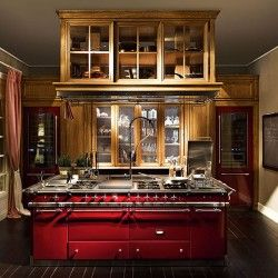 Cucina classica Monterey in stile provenzale | Cucina in rovere