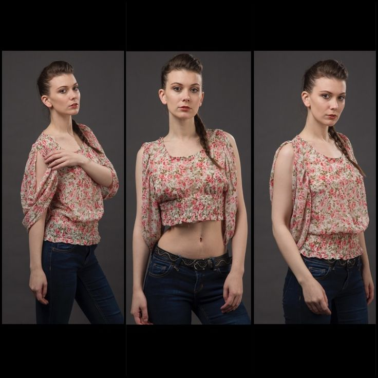 chiffon rose blouse with variations