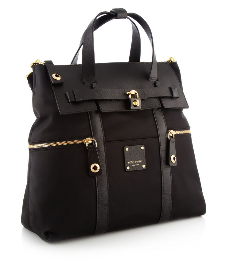 Convertible Backpack, Black – Jetsette  rwater resistant nylon dynamo as a chic urban backpack, a  | Henri Bendel  $278.00
