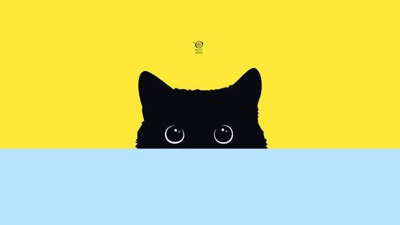 Kitty By Bfvrp On Etsy Cute Desktop Wallpaper Cute Computer Backgrounds Cute Cat Wallpaper